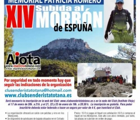 XIV SUBIDA AL MORRON DE ESPUÑA. MEMORIAL PATRICIA ROMERO