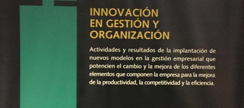 Entrega del Premio Innovación Empresarial en Gestión