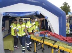 Simulacro de Terremoto en Lorca