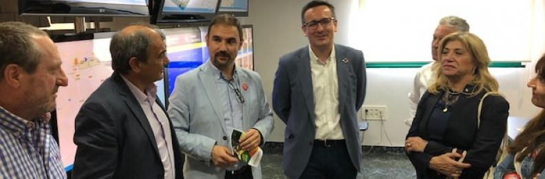 Visita del Secretario General del PSOE-RM