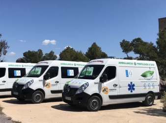 Ambulancias propulsadas a Gas