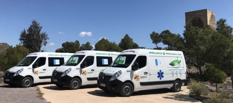Ambulancias propulsadas a Gas