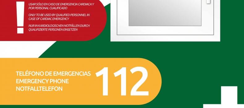 Ambulancias de Lorca, empresa Cardioprotegida.