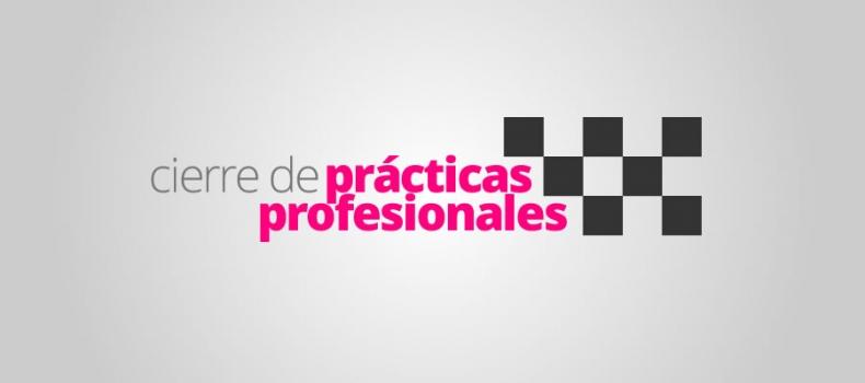 Cierre de prácticas profesionales 2016